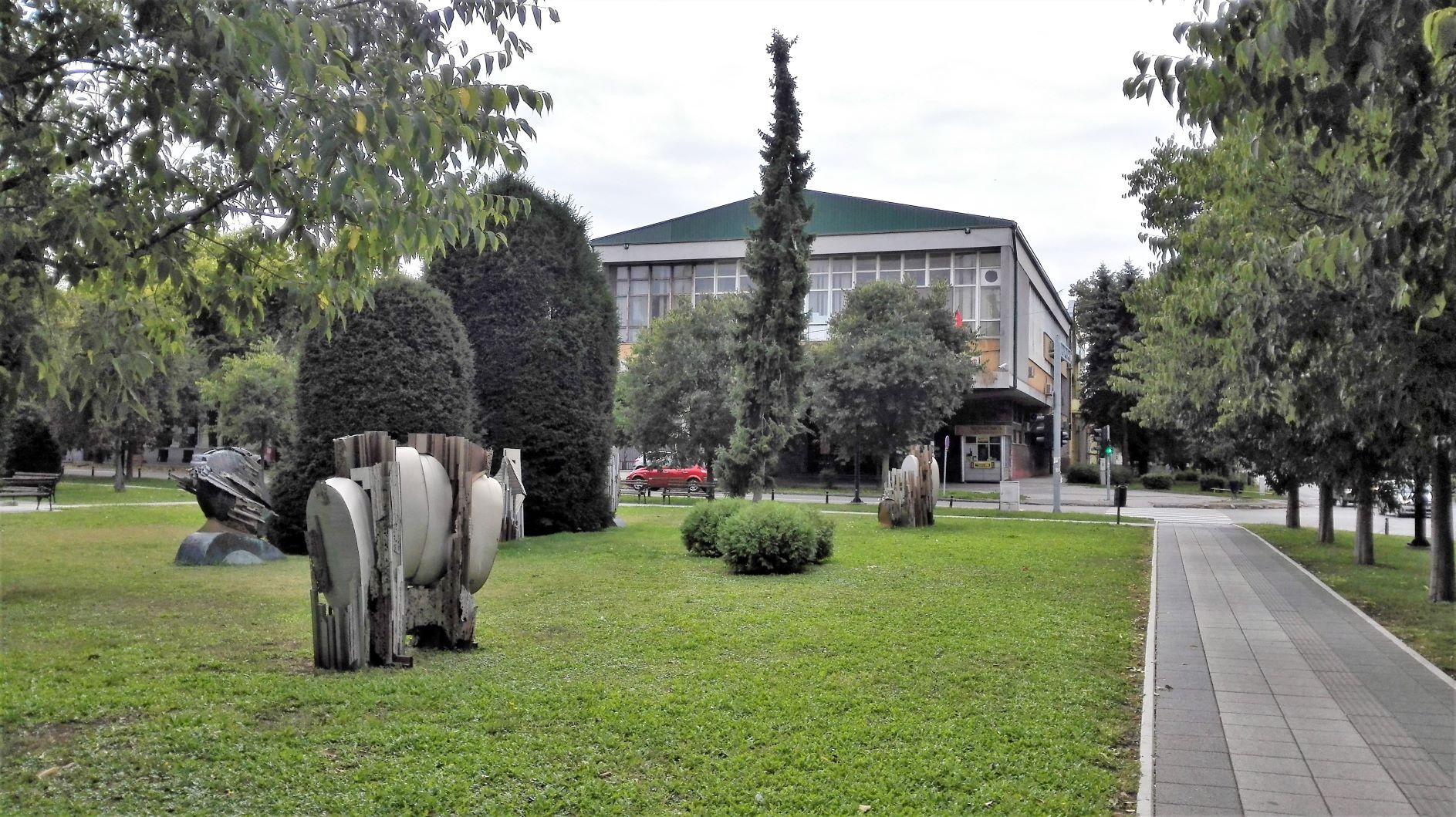 2 Zombori városi park